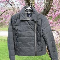 Splendid Black Solid Lightweight Jacket M Euc Photo