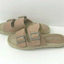 Splendid Blake Espadrilles Womens Size 7 Dark Blush Flats Adjustable Buckle Photo