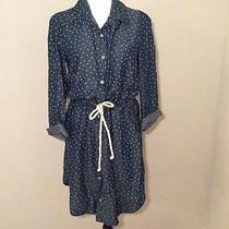 Splendid Blue Shirt Dress Photo