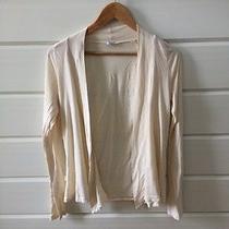 Splendid Cream Cotton Sweater Photo