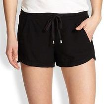Splendid Dolphin Shorts Sb597 Black Size Small Elastic and Drawstring Tie Photo
