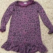Splendid Girl Dress 4 5 4t 5t Leopard Purple Photo