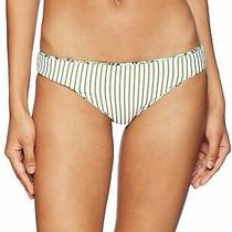 Splendid Green Women's Size Large L Bikini Bottom Reversible Swimwear 39 053 Photo