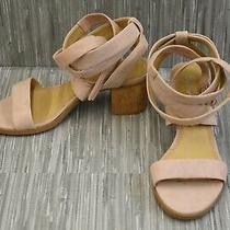 Splendid Janet Ankle Strap Sandals Women's Size 6.5 Blush New Photo