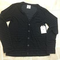 Splendid Mills Stripe Cardigan Sweater Size M Nwt 165.00  Photo