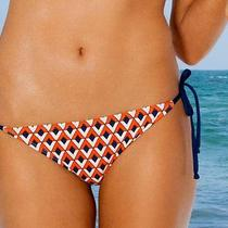 Splendid Pop Geo Tie Side Bikini Bottom Separates  Xs Photo