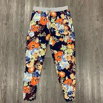 Splendid Spring Bloom Printed Pants Women's Size S Casual Ankle Cropped Sb9383  Photo