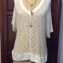 Splendid v Neck Sweater Gorgeous Size M Photo