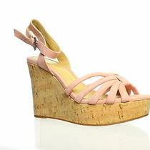 Splendid Womens Fallon Blush Ankle Strap Heels Size 9 Photo