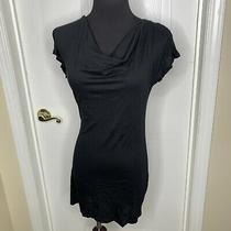 Splendid Womens Flutter Short Sleeve Cowl Tshirt Size Medium Photo