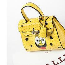 Spoof Spongebob Sisters Handbag Shoulder Bag Women Messenger Nadaliya Leather  Photo