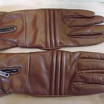 Sportmax  Max Mara   Gloves. Lamb Skin   Size 7 1/2 Photo
