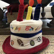 Sports Happy Birthday Candle Hat by Little Daydreamers Photo