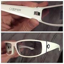 Spy Cooper Sunglasses White Excellent Made in Italy Ray Ban Dragon Photo