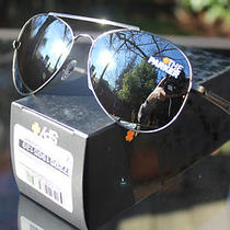 Spy Optics Parker Aviator Sunglasses Antique Silver/grey/black Mirror New Photo