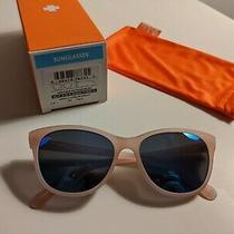 Spy Spritzer Sunglasses Newtranslucent Blush Frame With Blue/grey Lens Photo