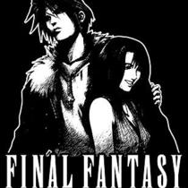 Squall & Rinao T-Shirt  Final Fantasy Video Game Shirt Photo