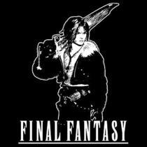 Squall T-Shirt  Final Fantasy Playstation Video Game Shirt  Photo