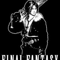 Squall T-Shirt  Final Fantasy Video Game Shirt Photo