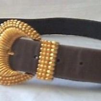 St John Brown Leather Ladies Belt Size M Photo