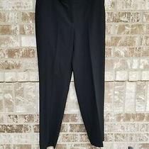 St John Caviar Emma Black Pants Size 10 Photo