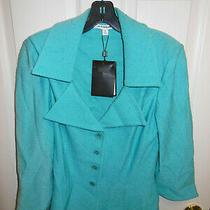 St. John Collection Antigua Wool Blend Blazer / Coat Jacket - Size 6 Photo