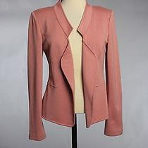 St John Knits Boutique Milano Knit Rose Quartz Jacket Size 6 Nwt Msrp 995 Photo
