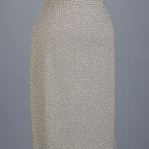 St John Knits Evening Novelty Knit Gold Skirt Size 6 Photo