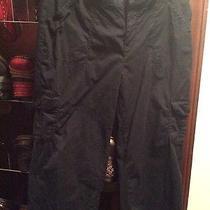 St. John's Bay Black Capri  Pants 8p Photo