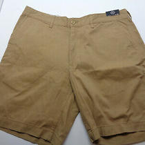 st.john's Bay Men's Shorts Color Brown  Size  40 Photo