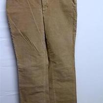 St. John's Bay Pants Size 8 Avg Women's Corduroy Boot Cut Light Tan Slender Photo