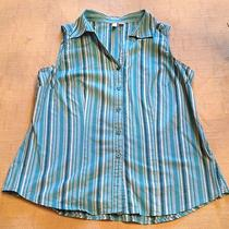 St. John's Bay Sleeveless Summer Blouse - Very Cute Photo