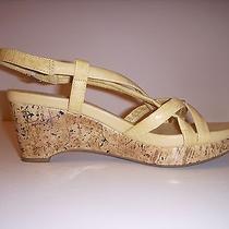 St John's Bay Women's Shoes Size 6m Wedge Sandals Photo