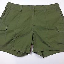 St John's Bay  Women's Shorts  Sz  20w Nwt Tuscan Olive Photo