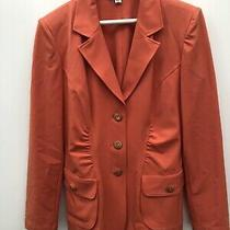 St John Sport by Marie Gray Jacket Button Front  Blazer Size Medium Photo