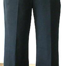 St. John Sport Essentials Black Cropped Stretch Cotton Pant Fa 05 Sz 10 385 Euc Photo