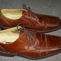 Stacy Adams Men's Demill Brown Leather Shoe Size 10 Photo