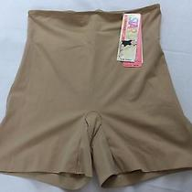 Star Power by Spanx Large Thin Vogue Girl Short 1967 Champagne Pop Photo