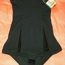 Star Power by Spanx Thin Vogue Slimming High Tunic Shaper Black Sz L 58 - Nwt Photo
