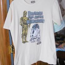 Star Wars T Shirt R2d2 & C3po Brothers From Another Mother Board Size Medium Photo