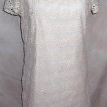 Staring at Stars Lace Dress Tunic Large Ivory Antique Look Photo