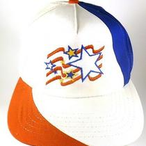 Stars Bars Red White Blue Vintage Snapback Hat American Flag Old Glory Yupoong Photo