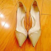 Stella Mccartney Beige See Through Transparent Pointed Toe Heels Photo