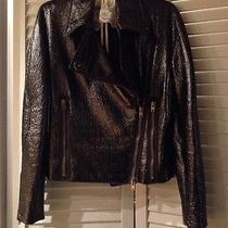 Stella Mccartney Faux Leather Motorcycle Jacket 46 Photo
