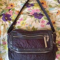 Stella Mccartney for Lesportsac Grey Purple Camera Bag Photo