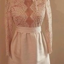 Stella Mccartney Ivory Lace Wedding  Bridal Shower Dress Size 40 Photo