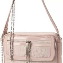 Stella Mccartney Lesportsac Blush Large Antique Quilted Laptop Diaper Bag 350 Photo