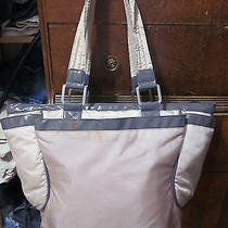 Stella Mccartney Lesportsac Pink Posh Colorblock Mum Tote Diaper Bag Vguc as Is Photo