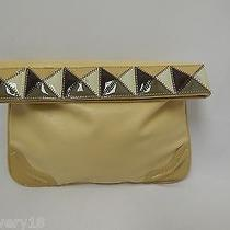 Stella Mccartney Multi-Brown Microfiber Foldover Clutch Handbag Photo