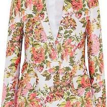 Stella Mccartney Neon Jacquard Floral Jacket Size 38 (Au 6-8) Photo